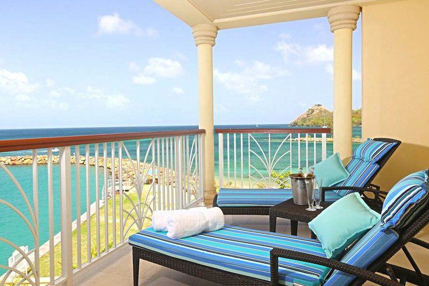 Ocean View Suite, Landings St Lucia, Caribbean