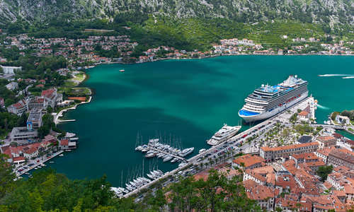 Oceania Cruises in Kotor