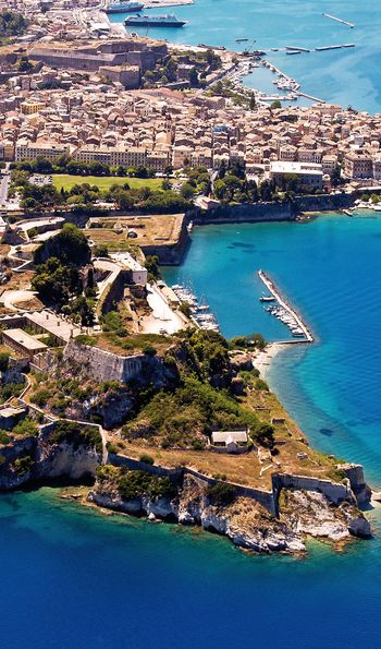 Old fortress, Corfu, Greece, Europe
