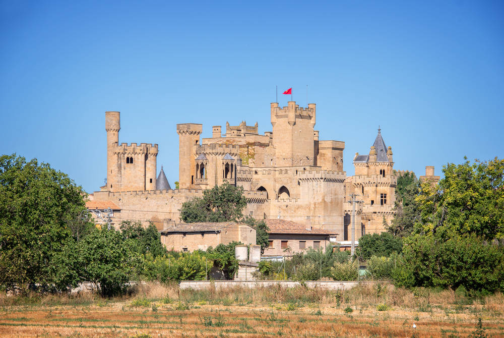 Olite Castle, Navarro