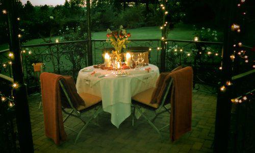 Oliver's Restaurant & Lodge - Gazebo - romantic dinner 3