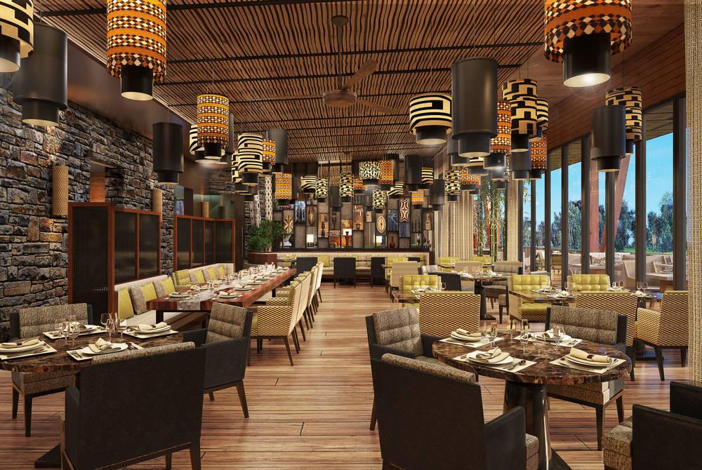 Restaurant, One&Only Gorilla's Nest
