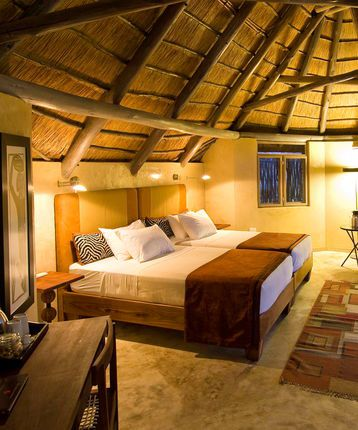 Bedroom, Ongava Lodge