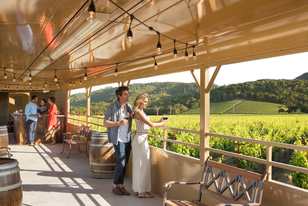 Open Air Car, Napa Valley Wine Train