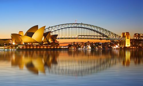 Opera House and Harbour Bridge, Sydney
