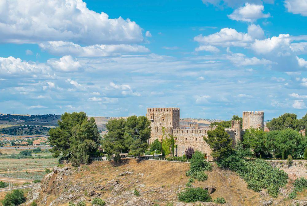 Oropesa Castle at Toledo Castilla La Mancha