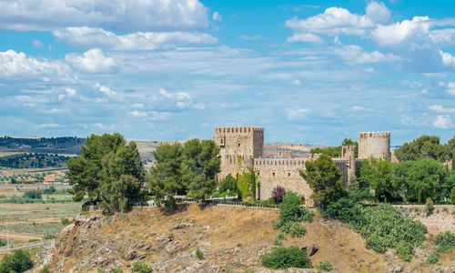 Oropesa Castle at Toledo Castilla La Mancha, Spain