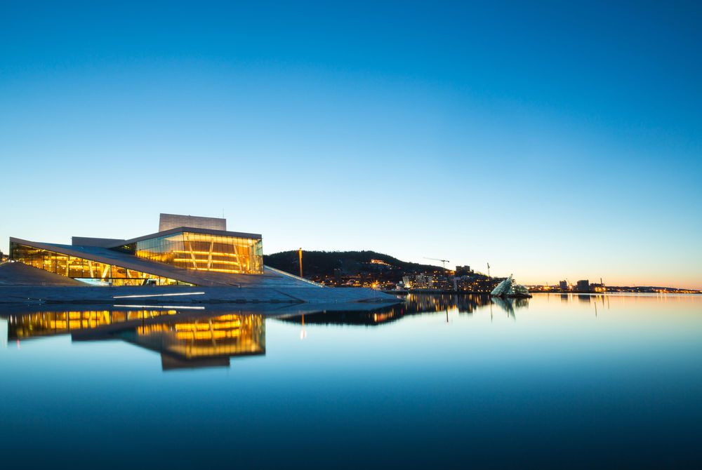 Oslo Opera House, Olso, Norway