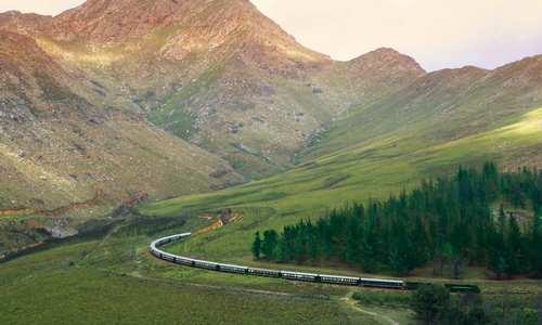 Oudtshoorn, Rovos Rail