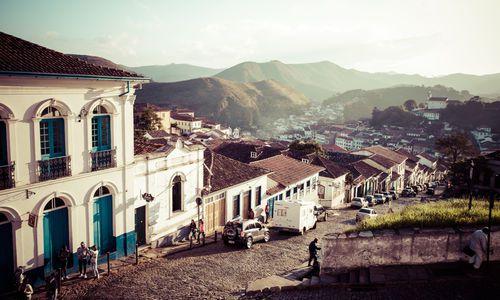 Ouro Preto in Minas Gerais Brazil