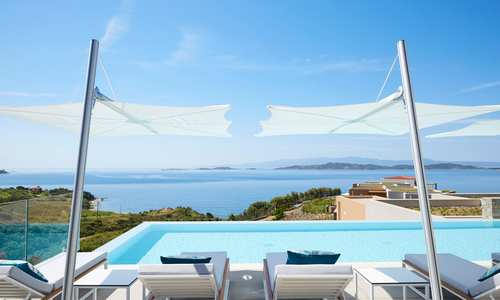 Outdoor Pool, Eagles Villas, Halkidiki