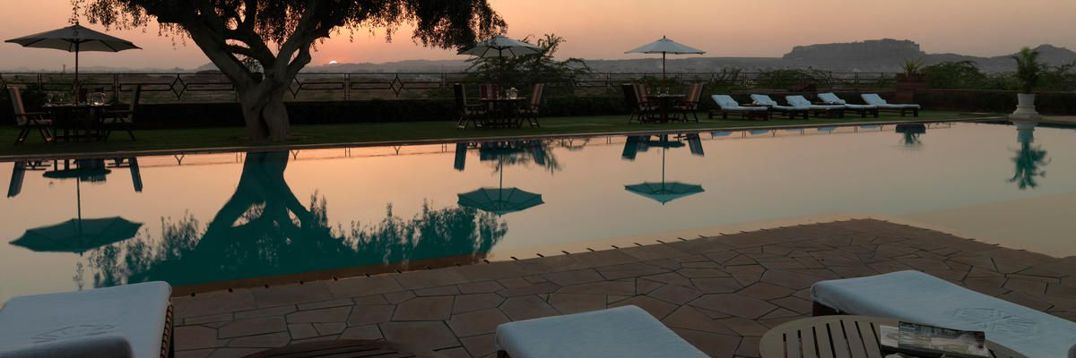 Outdoor Pool, Umaid Bhawan, Jodhpur