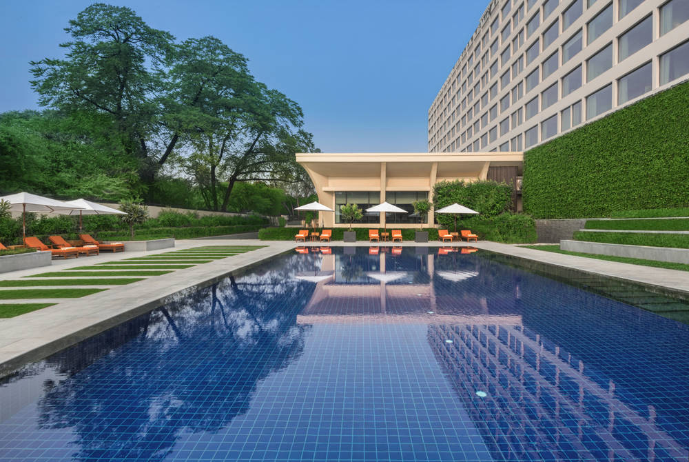 Outdoor Swimming Pool – The Oberoi, New Delhi