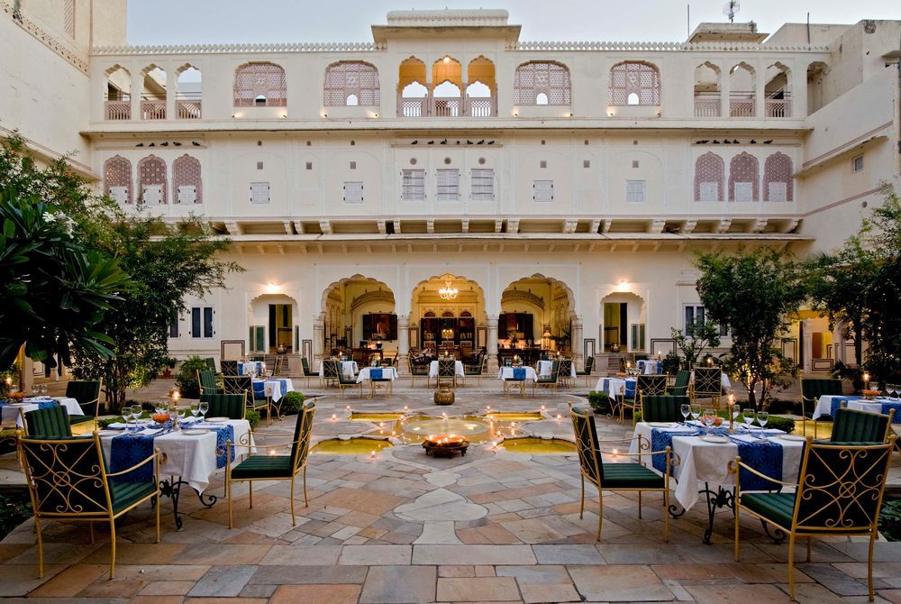 Courtyard, Samode Haveli, Jaipur