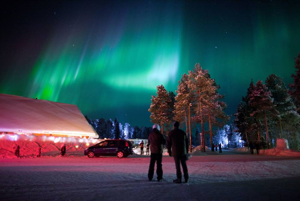 Northern Lights, Harriniva Hotel