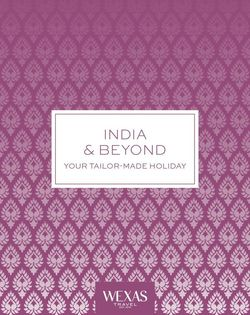 India & Beyond cover