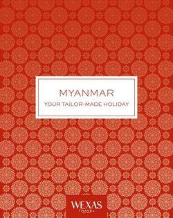 Cover for brochure Myanmar (Burma)