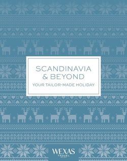 Scandinavia and beyond cover