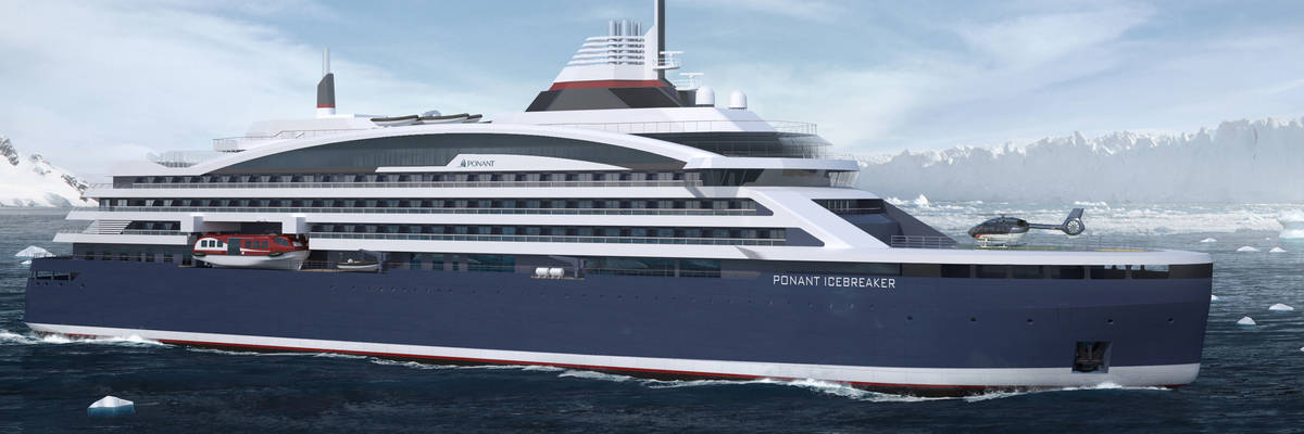 Ponant Order The Worlds First Electric Hybrid Icebreaker