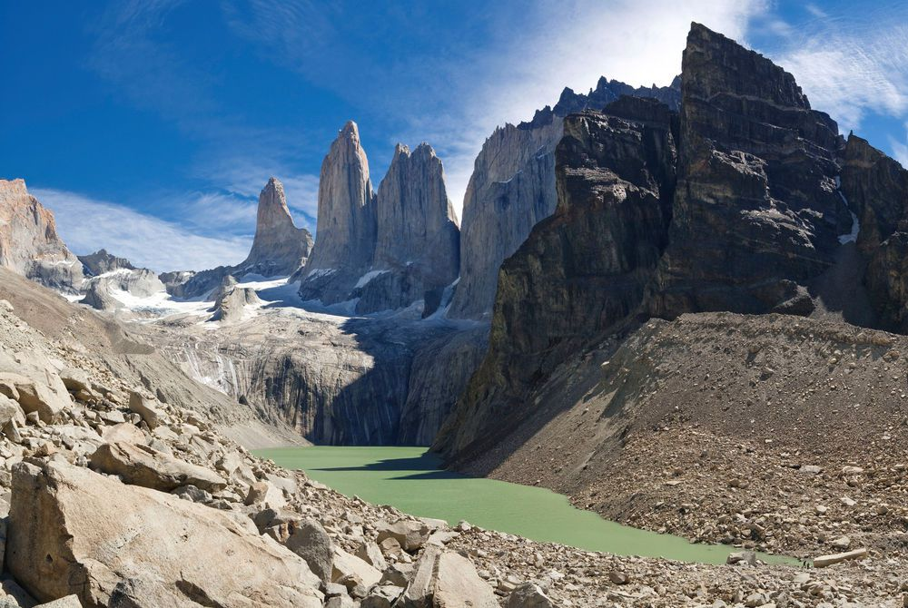 Paine Massif, Torres del Paine National Park, Chile