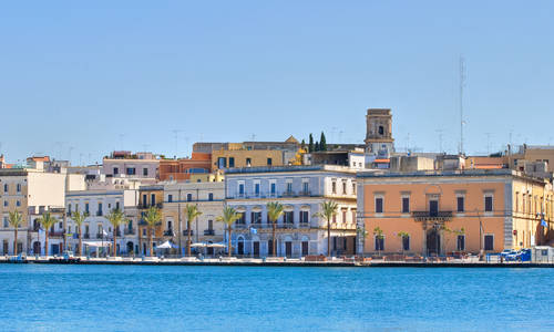 Panoramic view of Brindisi