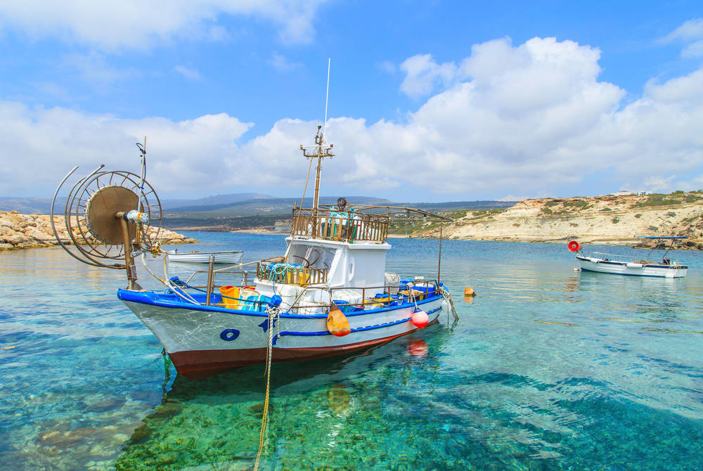 Fishing boat, Paphos