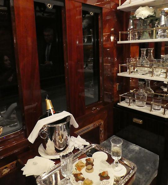 Paris Grand Suite aboard the Venice Simplon-Orient-Express