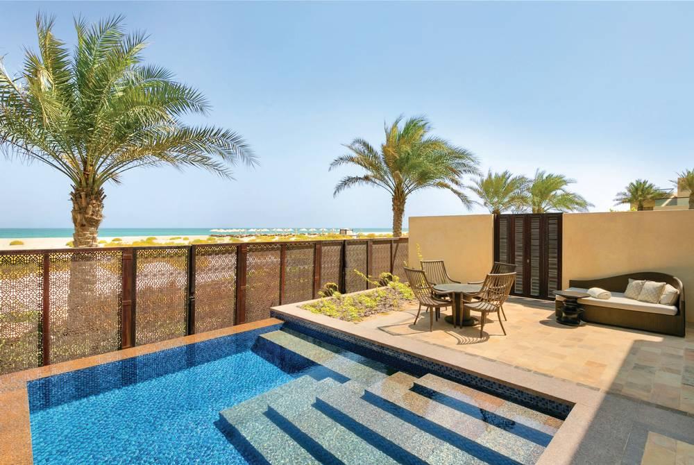Pool suite, Park Hyatt Abu Dhabi