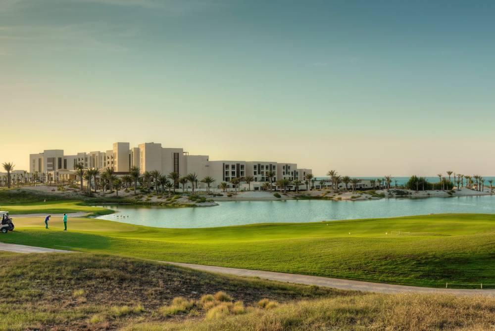 Golf course, Park Hyatt Abu Dhabi