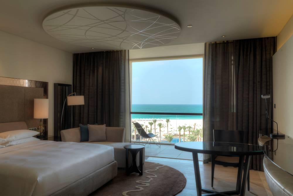 Beach view room, Park Hyatt Abu Dhabi