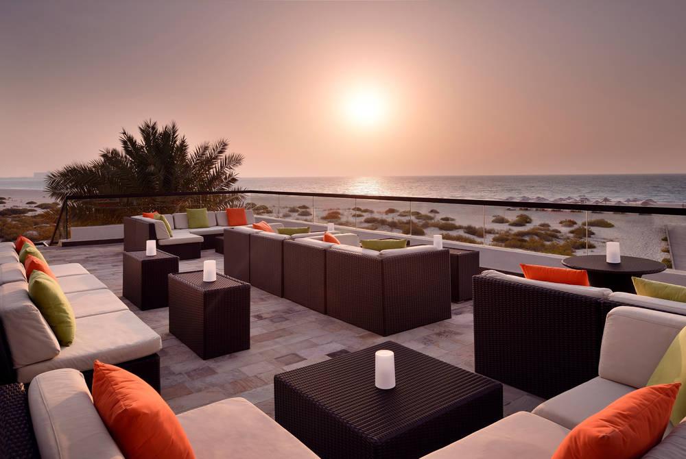 Beach bar, Park Hyatt Abu Dhabi