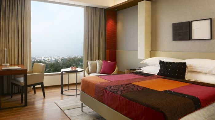 Guestroom King Bed, Hyatt Amritsar