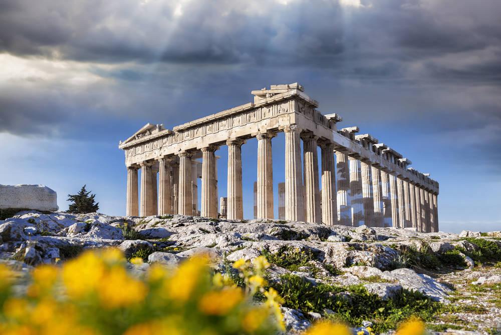 Parthenon temple, Acropolis, Athens, Greece
