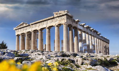 Parthenon temple, Acropolis in Athens, Greece