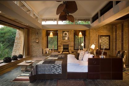 Accommodation interior, Pashan Garh