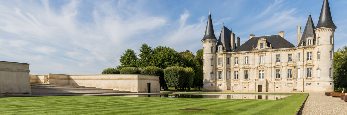 Pauillac in Medoc in France