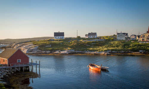 Peggy's Cove Harbour, Nova Scotia