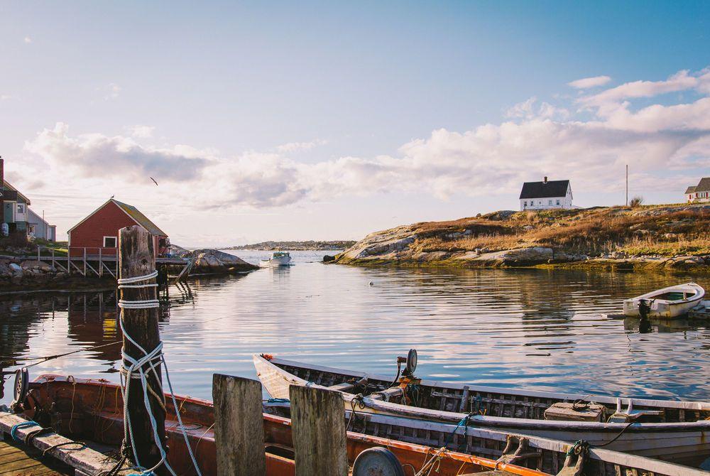 Peggy's Cove Village, Nova Scotia