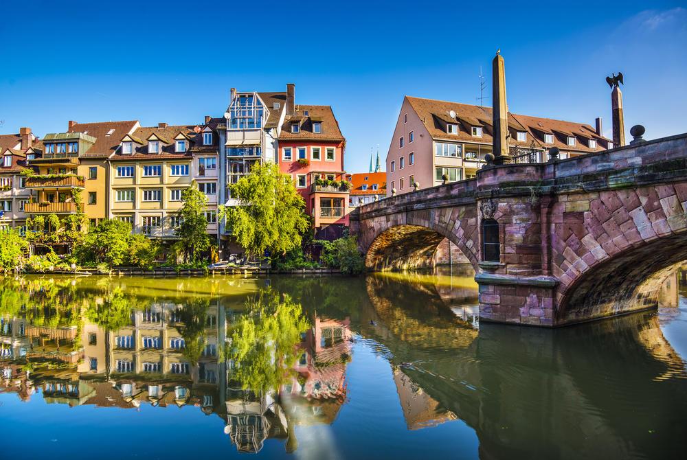 Nuremberg's old town