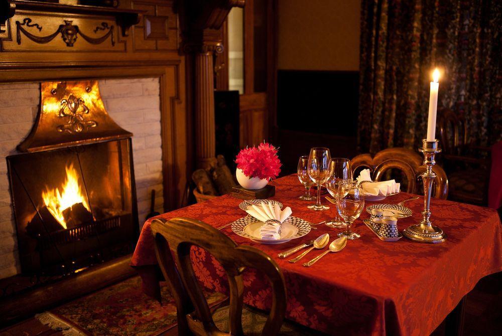 Pen-y-Bryn Lodge dining room, New Zealand