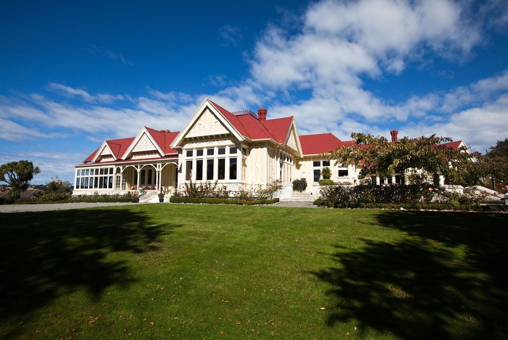 Pen-y-Bryn Lodge exterior, New Zealand