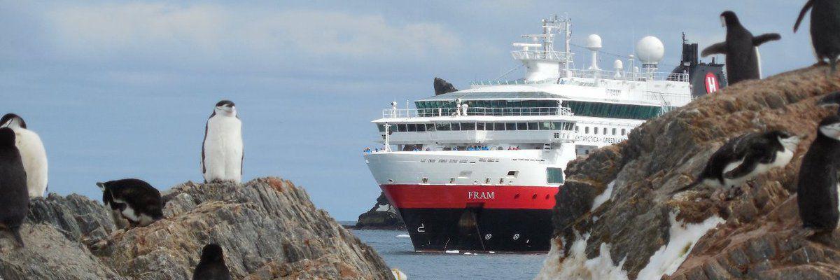 Hurtigruten expands their fleet in Antarctica