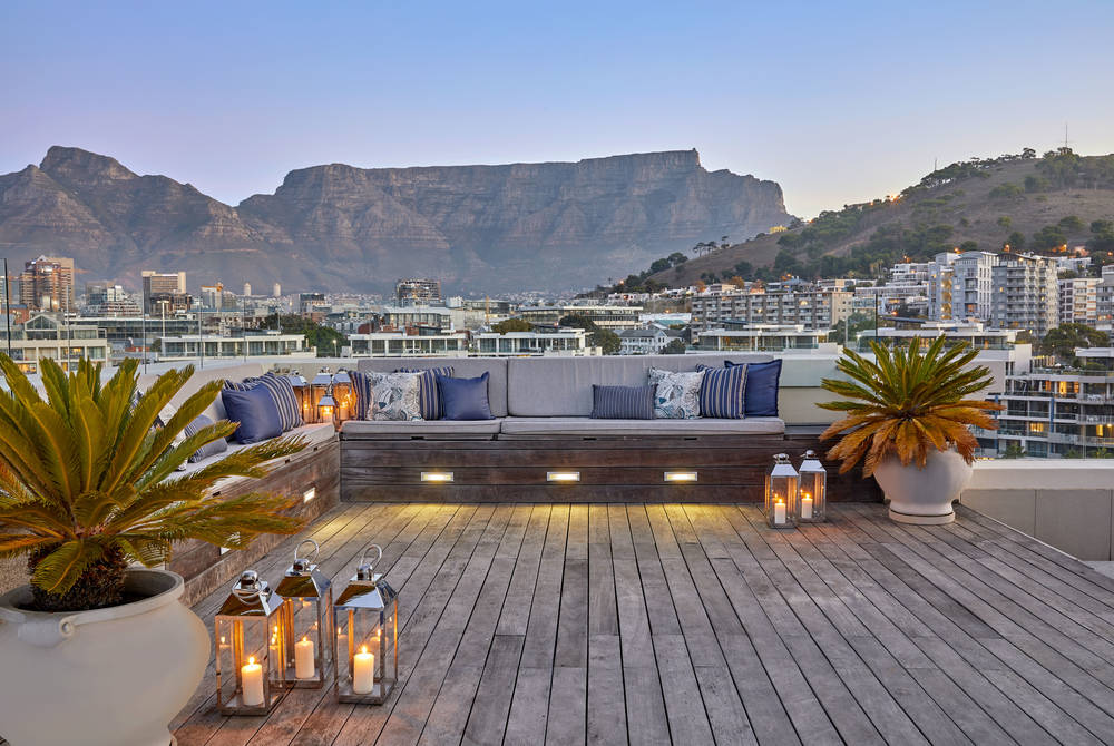 Penthouse roof terrace, One&Only Cape Town