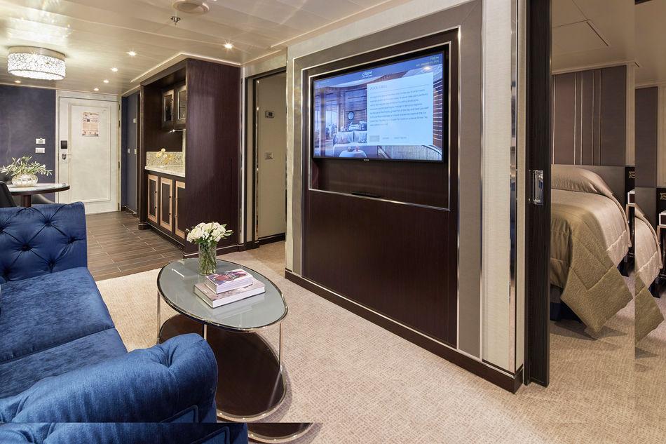 Penthouse Suite on Seven Seas Splendor