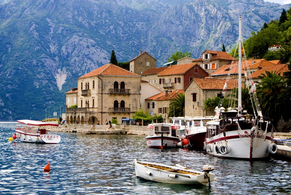Perast Bay, Croatia