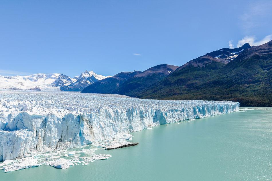 The face of Perito Moreno Glacier, Argentina
