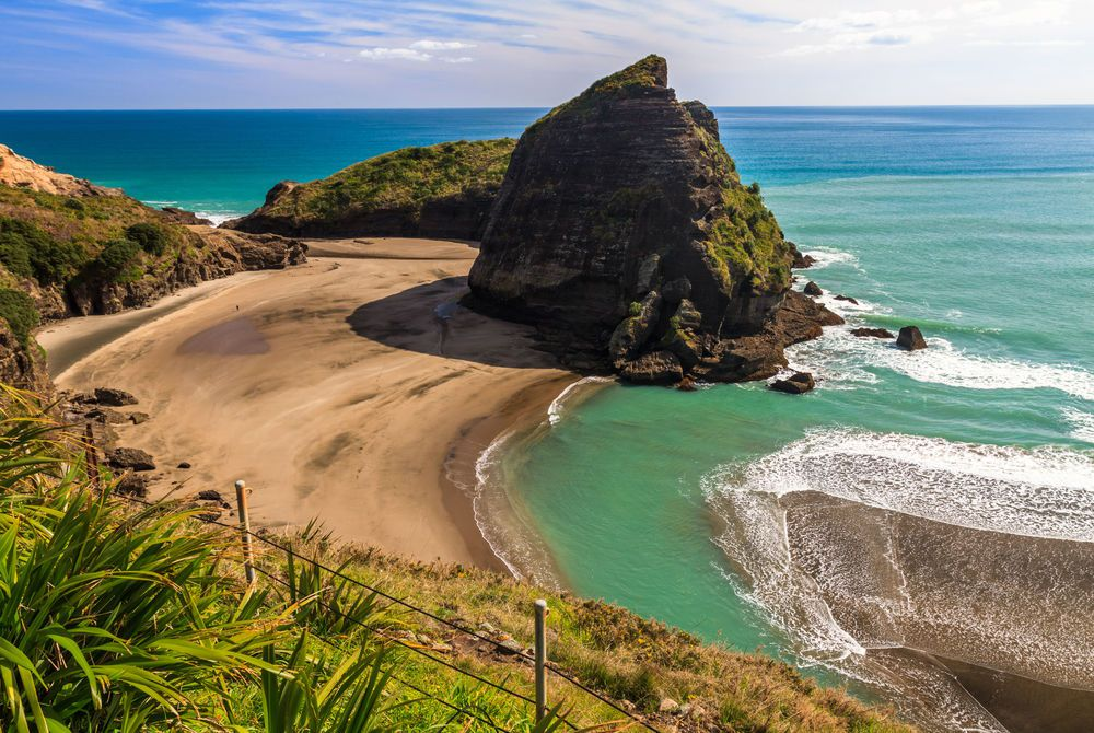 Piha Beach, North Island, Auckland, New Zealand