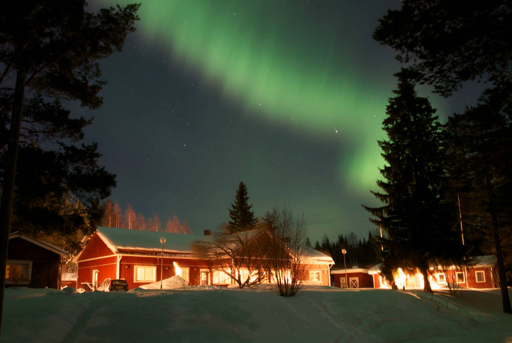 Pine Bay Lodge, Swedish Lapland