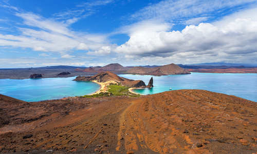 Pinnacle Rock, Bartolome Island, Galapagos Islands, Ecuador
