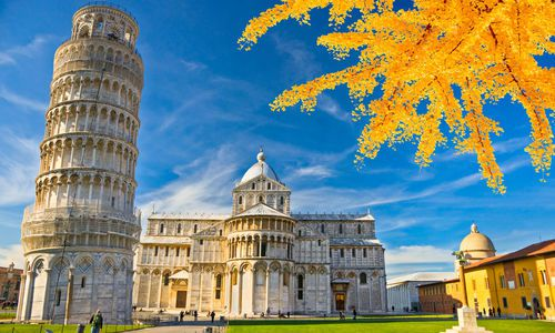 Pisa,The Leaning Tower. Tuscany, Italy